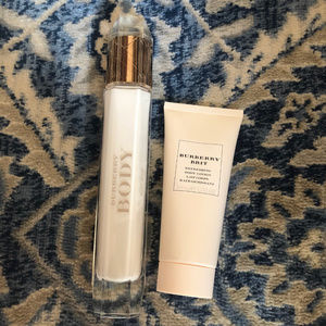 Burberry Body and Burberry Brit Body Lotion